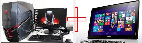 компьютер+компьютер