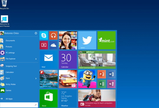 удалить программу в Windows 10