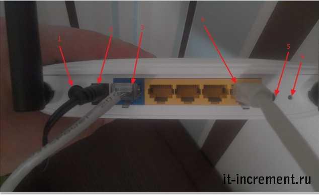 router kuda votknut