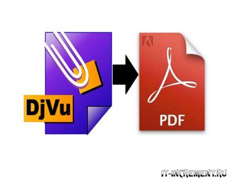 djvu konvertirovat v pdf