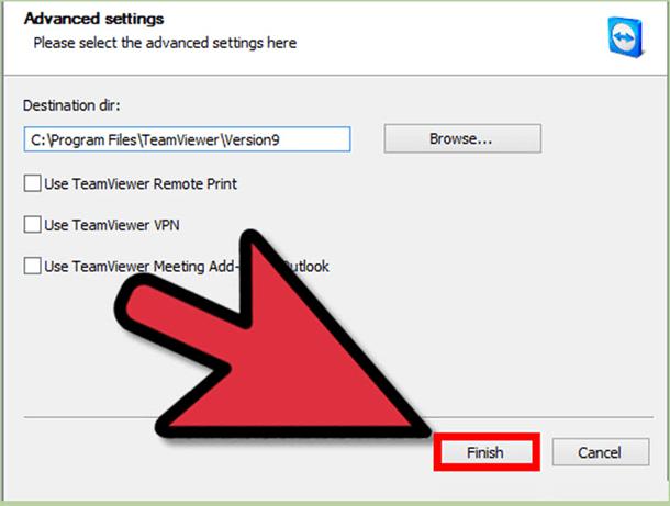 teamviewer settings