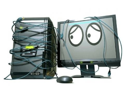 prichinu polomki komputera