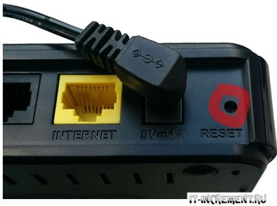 router reset